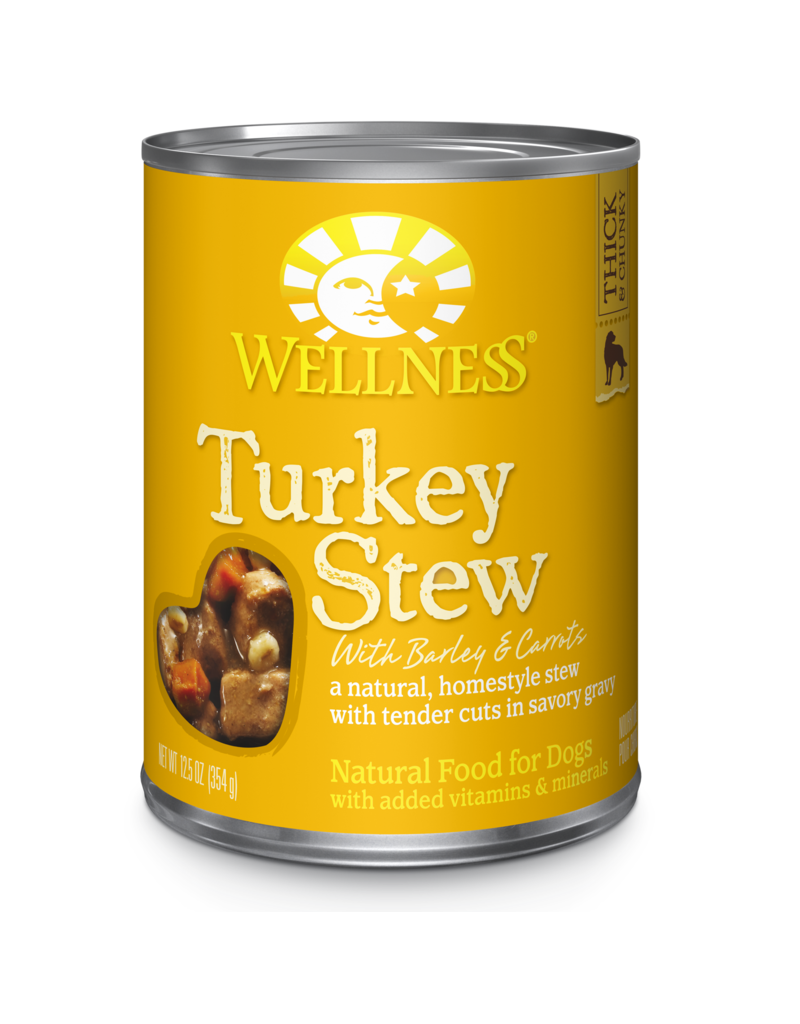Wellness Canned Dog Turkey Stew 12.5 OZ