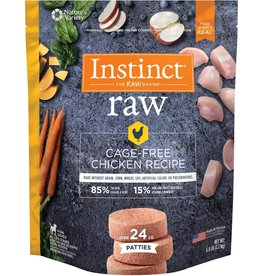 Nature's Variety Frozen Dog Cage Free Chicken Patties 6 Lb