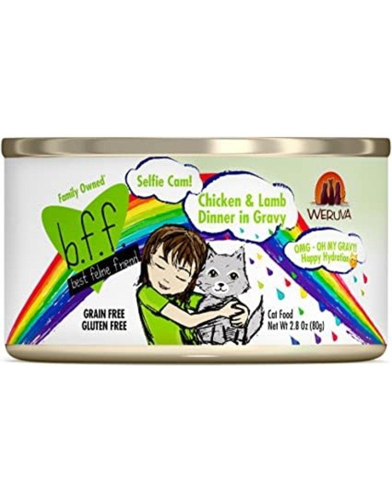 Weruva BFF Canned Cat Selfie Cam Chicken Lamb 5.5 Oz
