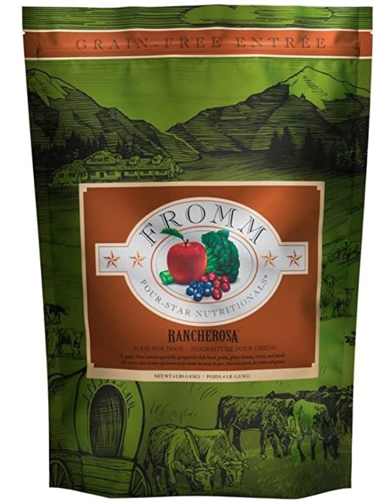 Fromm Family Pet Food Fromm Four Star Dry Dog Rancherosa 4 Lb
