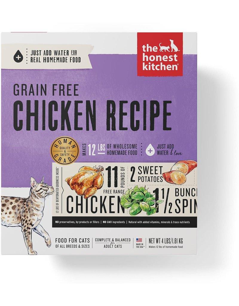 Honest Kitchen Dehydrated Dry Cat Grain Free Chicken 2 lb Box