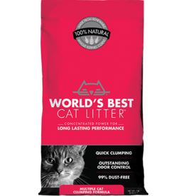 WORLDS BEST CAT LITTER World's Best Cat Litter Multi Cat 8 lb