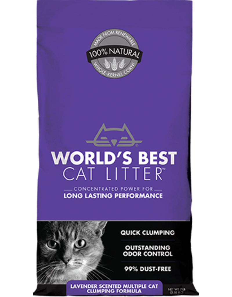 WORLDS BEST CAT LITTER World's Best Cat Litter Scented Multi Cat 7 lb