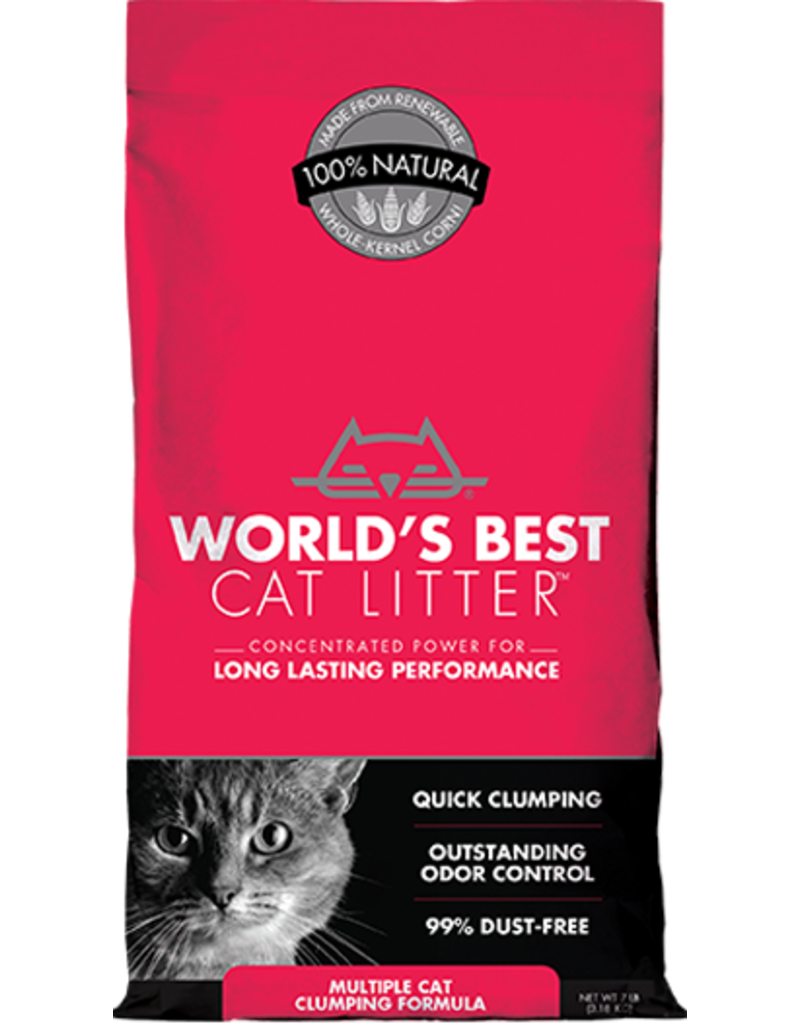 WORLDS BEST CAT LITTER World's Best Cat Litter Multi Cat 28 lb