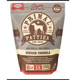 Primal Dog Frozen Raw Venison Patties 6 Lb