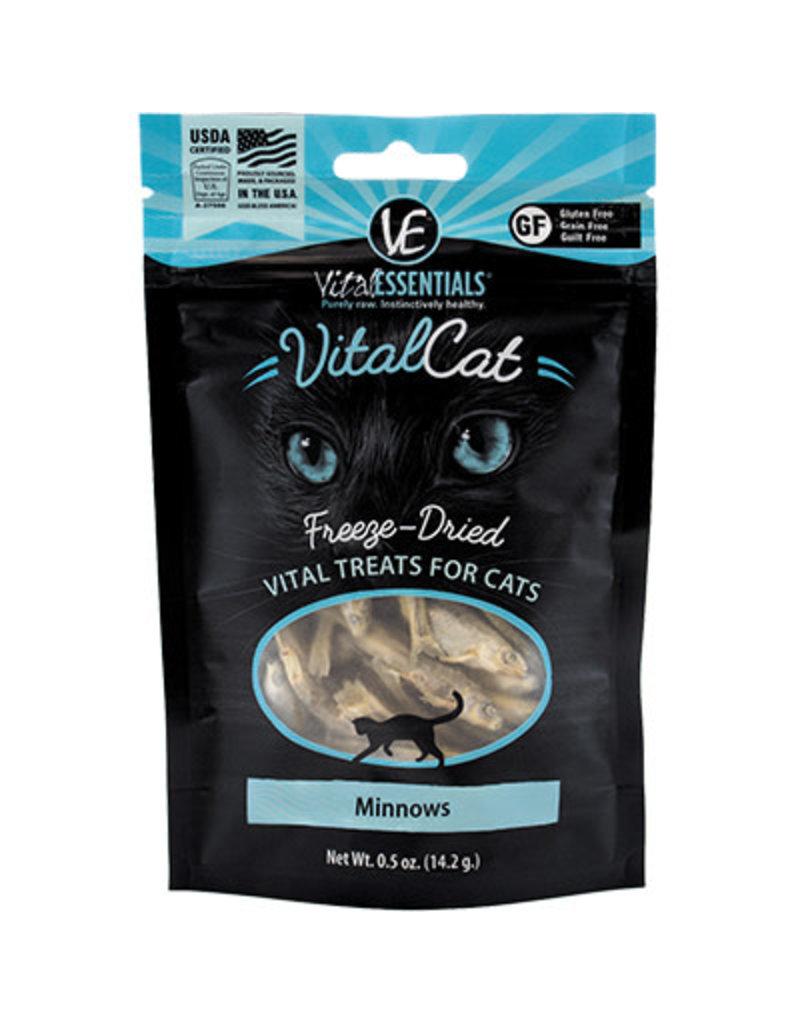 Vital Essentials Freeze Dried Cat Minnows 0.5 Oz