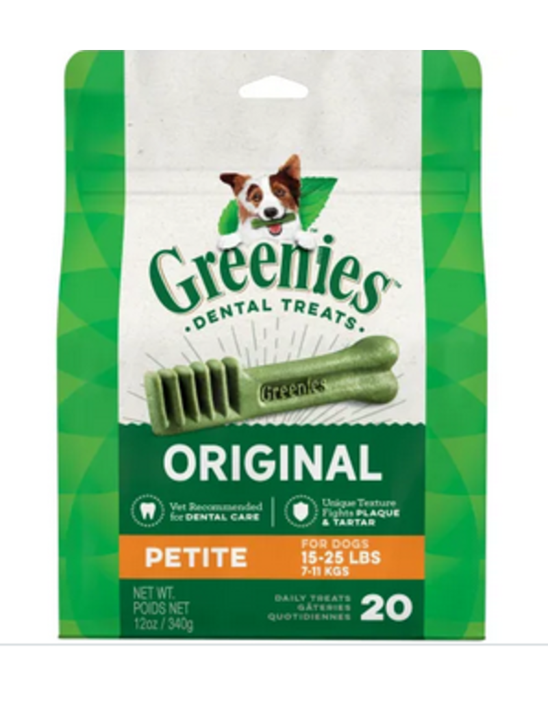 Greenies Dog, Petite 20 ct 12 oz