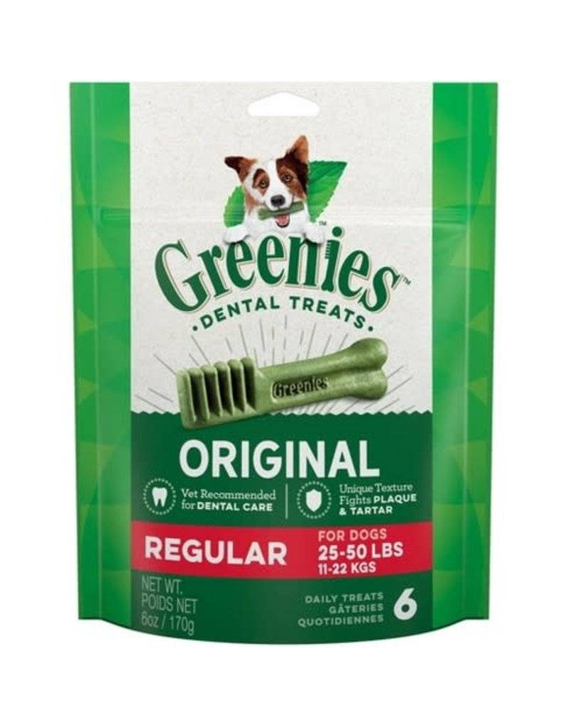 GREENIES DOG, GREENIES, Regular 12 CT 12 oz
