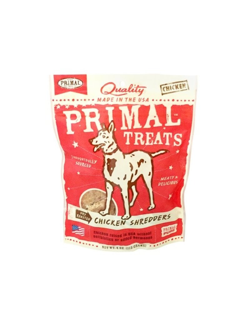 Primal Treats Chicken Shredders 4 OZ