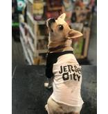 Hound About Town 50/50 Jersey City 3/4 Raglan Dog Tee