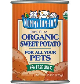 Nummy Tum Tum Sweet Potato Can 15 OZ
