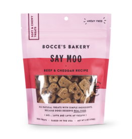 Bocce's Bakery Bocce's Bakery Soft & Chewy Say Moo 6 oz