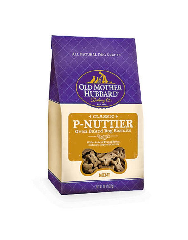 Old Mother Hubbard Dog Treats Mini P-Nuttier 5 oz