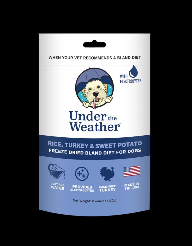 Under The Weather - Turkey Rice Sweet Potato Freeze Dried 6oz