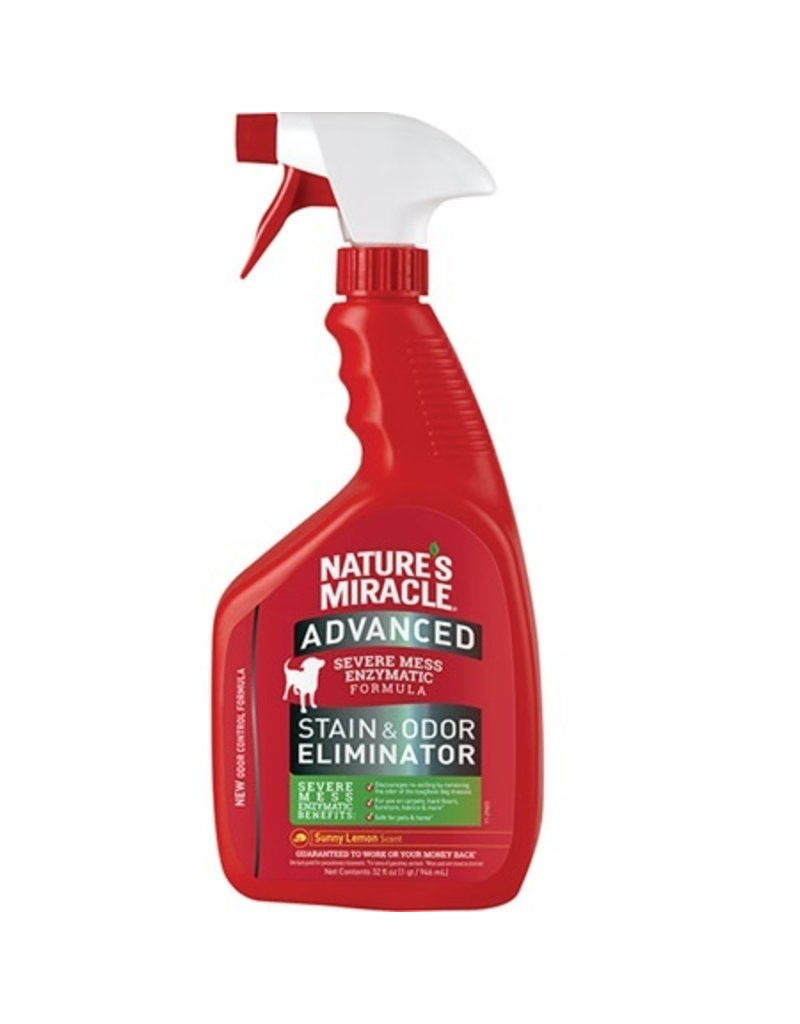 Nature's Miracle Advanced Dog Stain & Odor Sunny Lemon 32oz