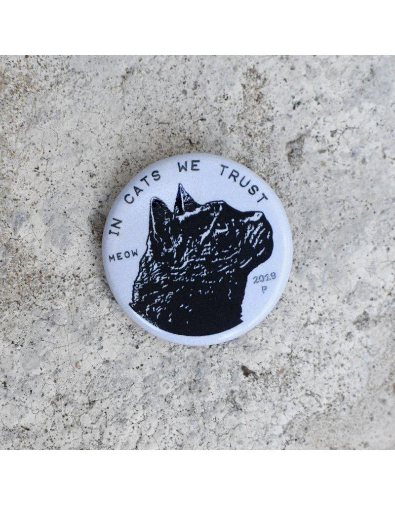 Xenotees Xenotees Cat Coin Pin-back Button