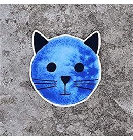 Xenotees Xenotees Blue Moon Cat Sticker