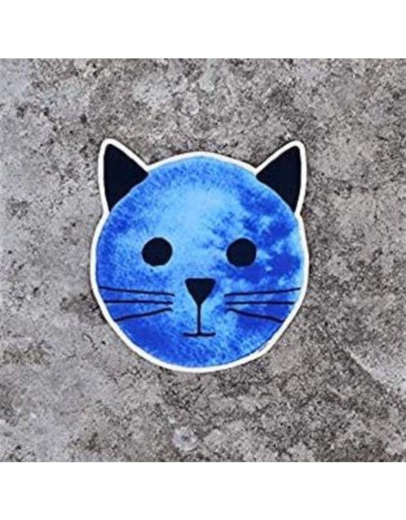 Xenotees Xenotees Blue Moon Cat Sticker