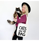 Xenotees Xenotees Cats Are My Bag Tote Bag