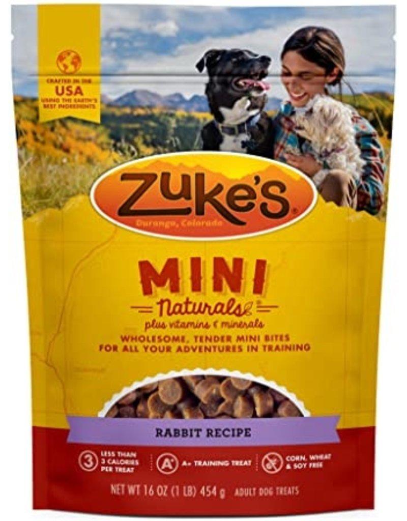 Zuke's Mini Naturals Wild Rabbit 1 LB