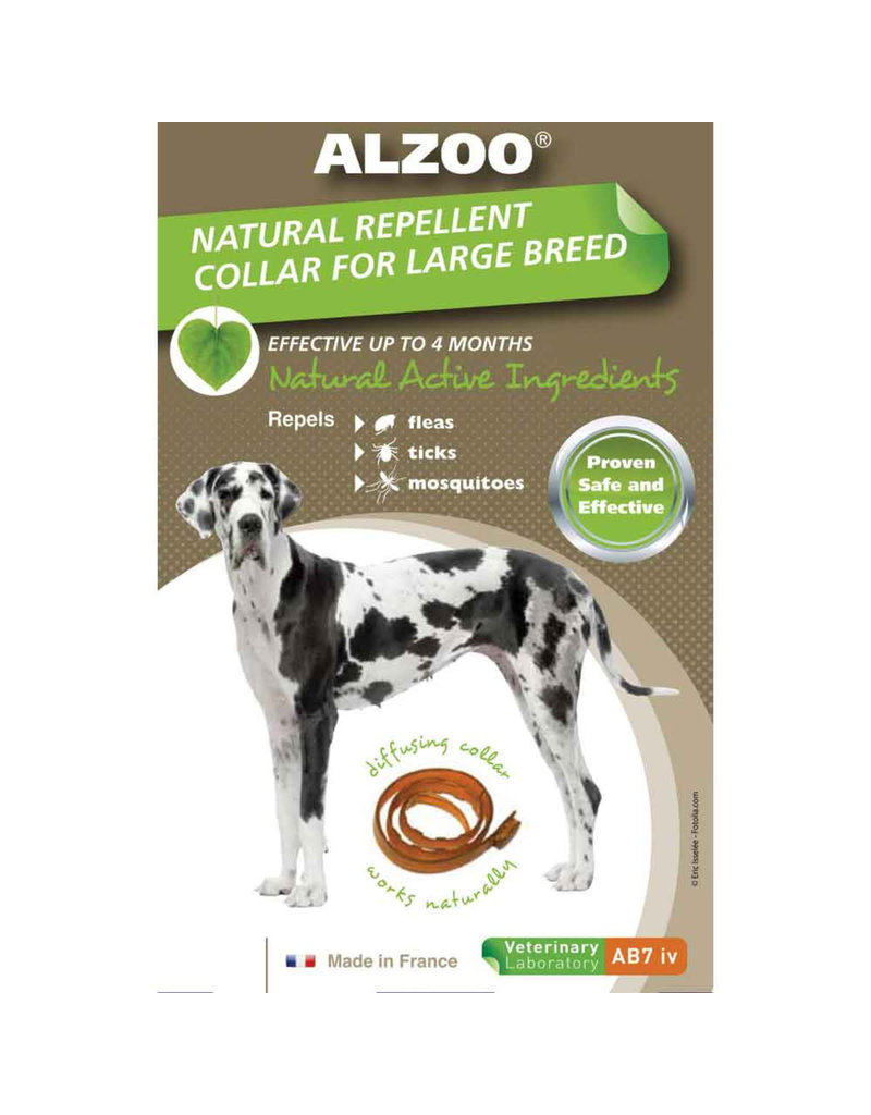 Alzoo Natural Repellent Collar Large/X-Large Dogs