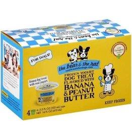 Bear and The Rat Bear & the Rat Frozen Dog Yogurt Peanut Butter Banana 3.5 Oz 4 Pack