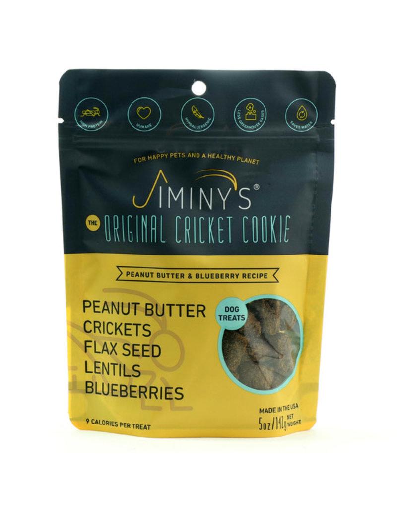 Jiminy's Jiminy's Peanut Butter & Blueberry Dog Biscuits