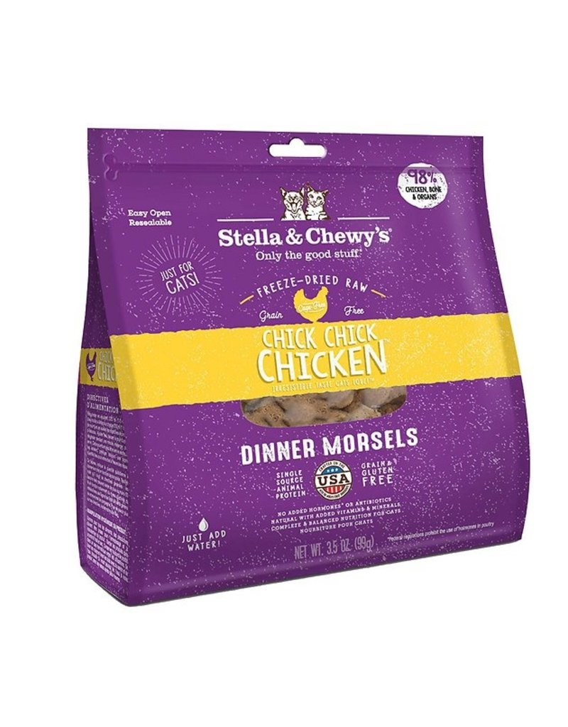 Stella & Chewy's Freeze Dried Chick, Chick, Chicken Dinner Cat - 3.5 oz