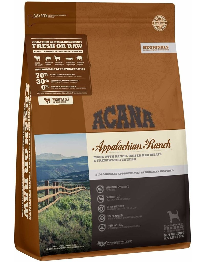 Acana Dry Dog Appalachian Ranch 4.5 lb