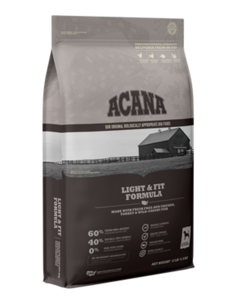 Acana Dry Dog Heritage Light & Fit 13 Lb
