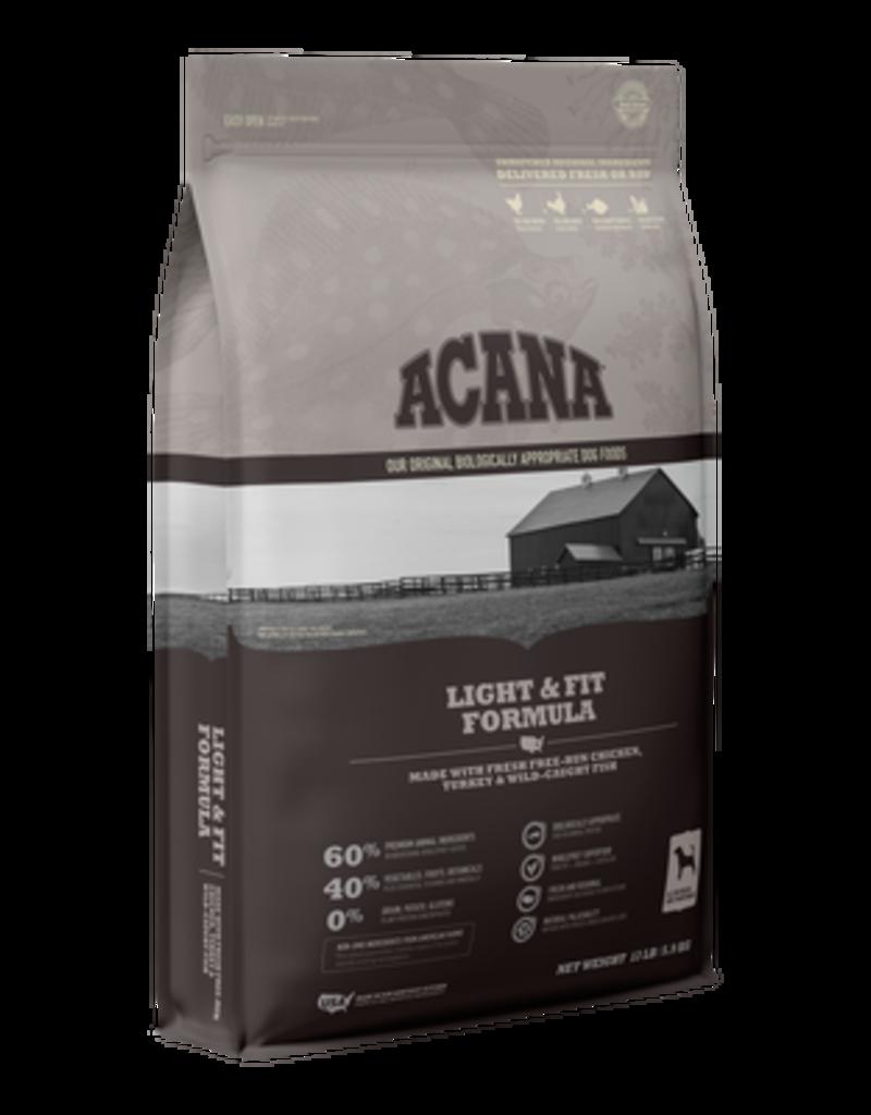 Acana Dry Dog Heritage Light & Fit 25 Lb