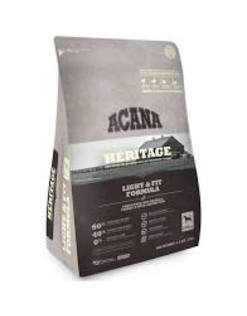 Acana Dry Dog Heritage Light & Fit 4.5 Lb