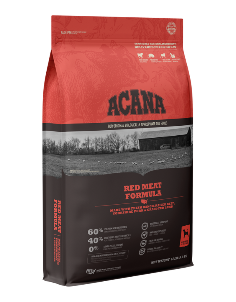 Acana Dry Dog Heritage Red Meat Formula 4.5 lb
