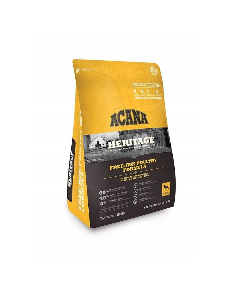Acana Dry Dog Heritage Free-Run Poultry 4.5 lb