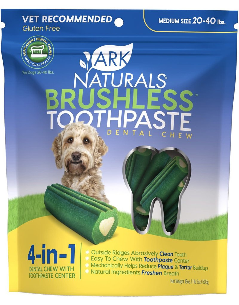 Ark Naturals Brushless Toothpaste Medium/Large 18 OZ