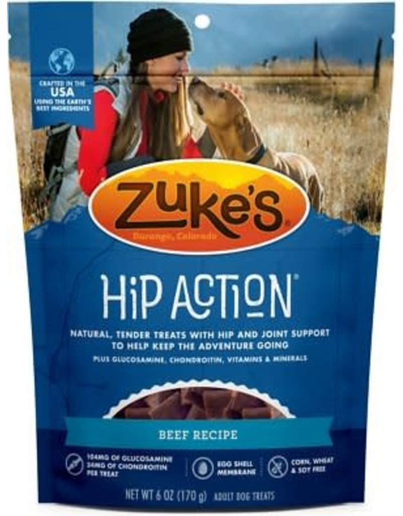 Zuke's Hip Action Beef 6 oz