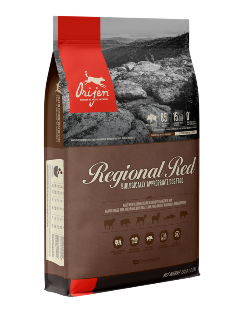 Orijen Dry Dog Regional Red 25 LB