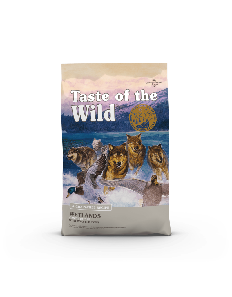 Taste Of The Wild Dry Dog Wetlands 5 Lb