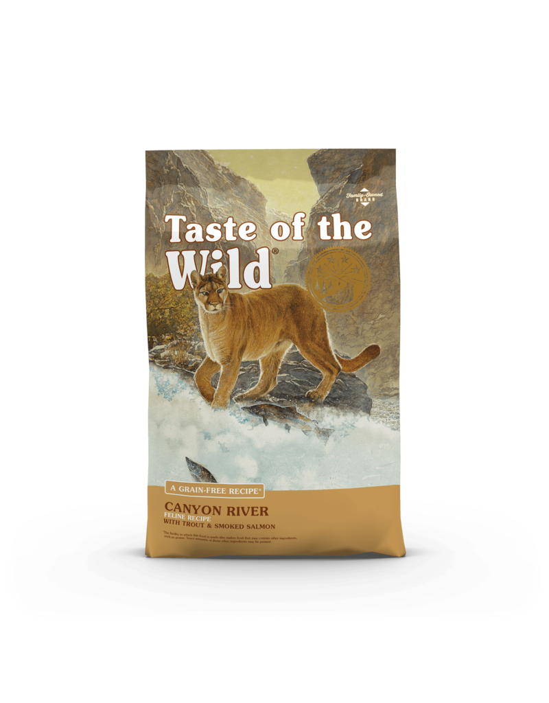 Taste of the Wild Dry Cat Canyon River Trout & Salmon 5 lb