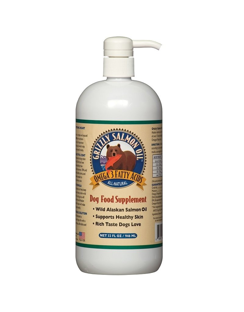 Grizzly Pet Products Grizzly Dog Salmon Oil  Plus 32oz