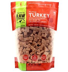 Raw Dynamic Raw Dynamic Canine Dog Turkey 3LB