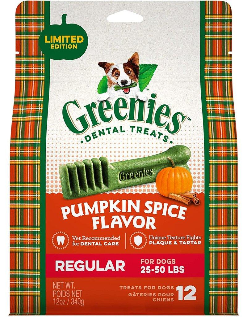 Greenies Dog, Pumpkin Spice, Regular 12 CT 12 oz