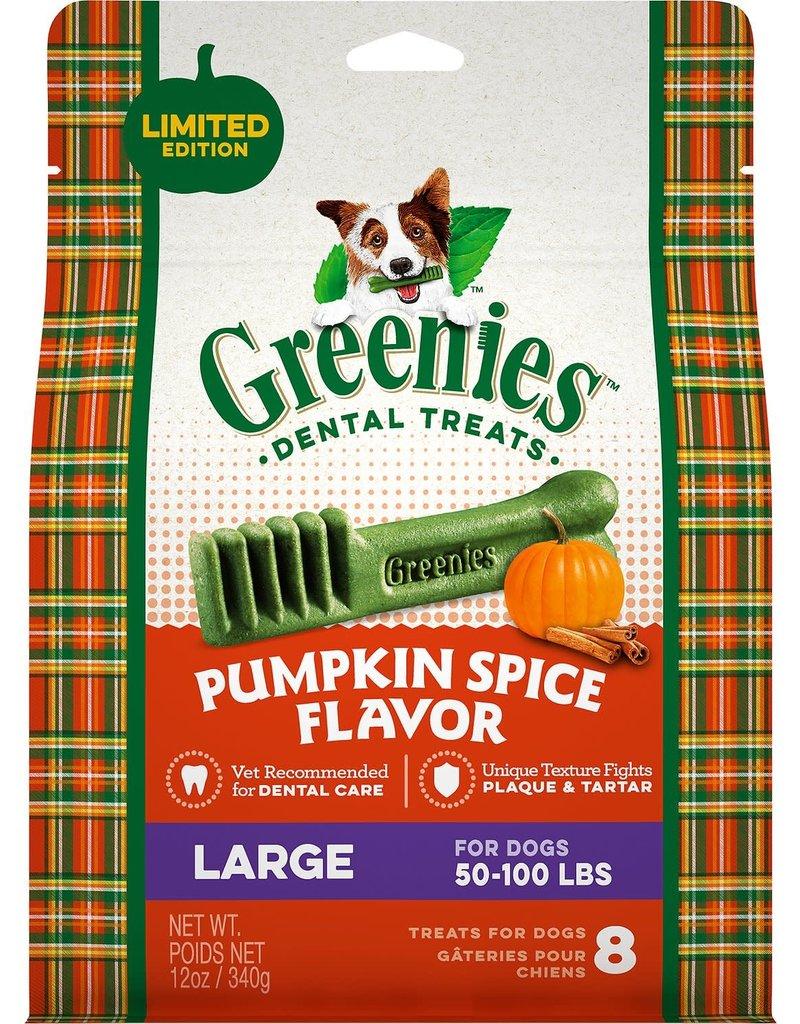 Greenies Dog, Pumpkin Spice, Large 12 CT 12 oz