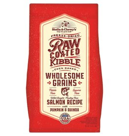 Stella & Chewy's Dry Dog Wholesome Grain Raw Coated Salmon 22 Lb