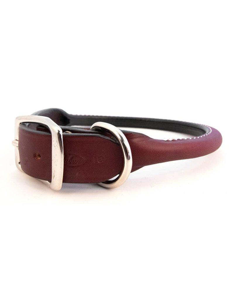 "AUBURN LEATHERCRAFTERS Auburn Leathercrafters Rolled Leather Collar 5/8"" x 16"