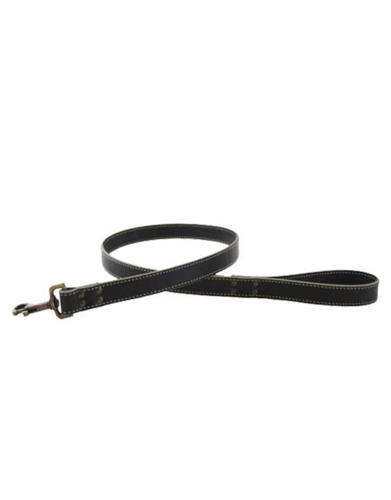 "AUBURN LEATHERCRAFTERS Auburn Leathercrafters Lake Country Stitched Leash 1/2""X48"""