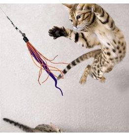 Dezi & Roo Dezi & Roo Wiggly Wand Cat Toy
