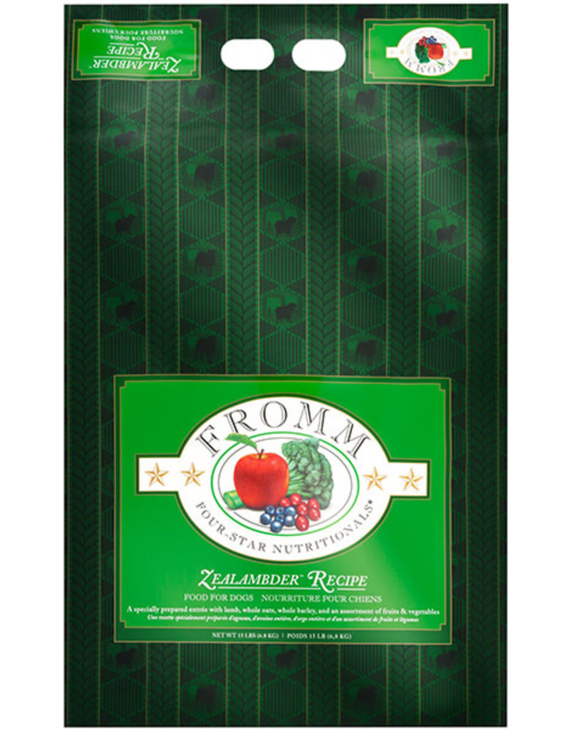 Fromm Family Pet Food Fromm Dry Dog Zealambder 15 Lb