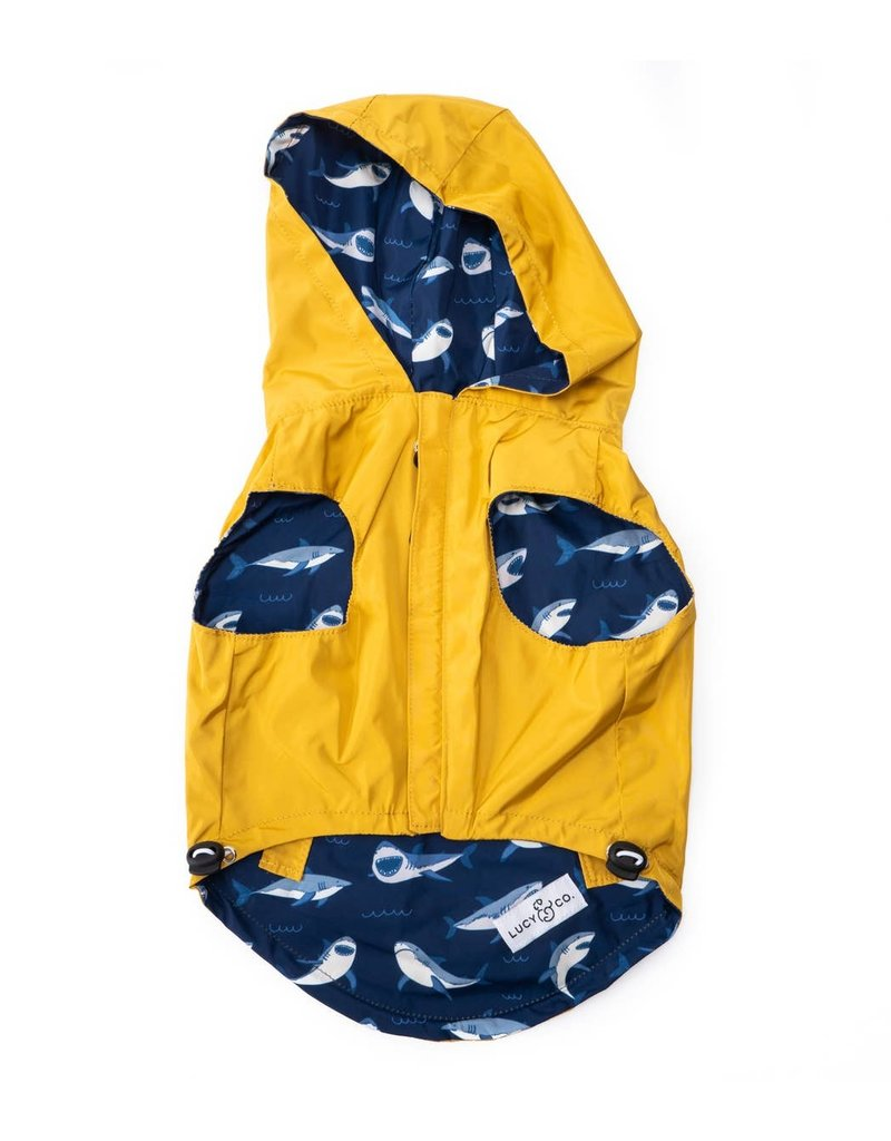 Lucy & Co. Lucy & Co. Reversible Raincoat