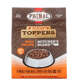 Primal Frozen Raw Butcher's Blend Topper Beef 2LB